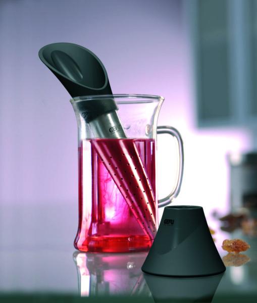 GEFU Прибор за чай  с лъжичка TEALEAF